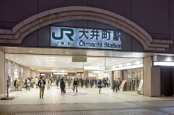 大井町店は、JR大井町駅ビル「アトレ」の7Fにあるのでアクセスが簡単!